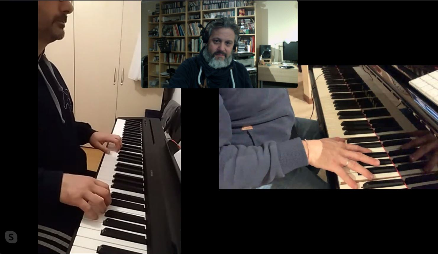 Rudy Fantin pianista docente e arrangiatore - Lezioni Skype
